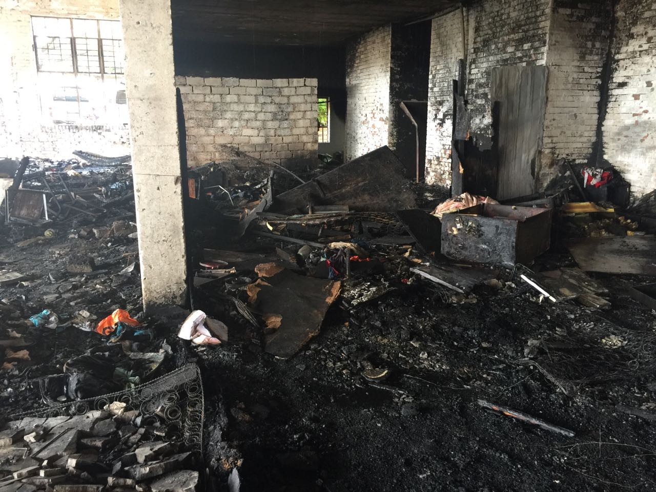 Many left homeless after shack fire