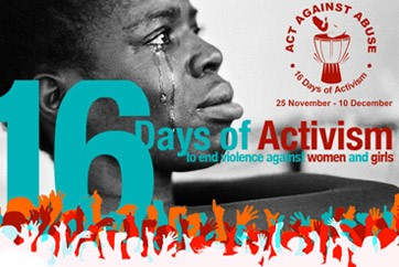 16 Days of Activism against Women and Children