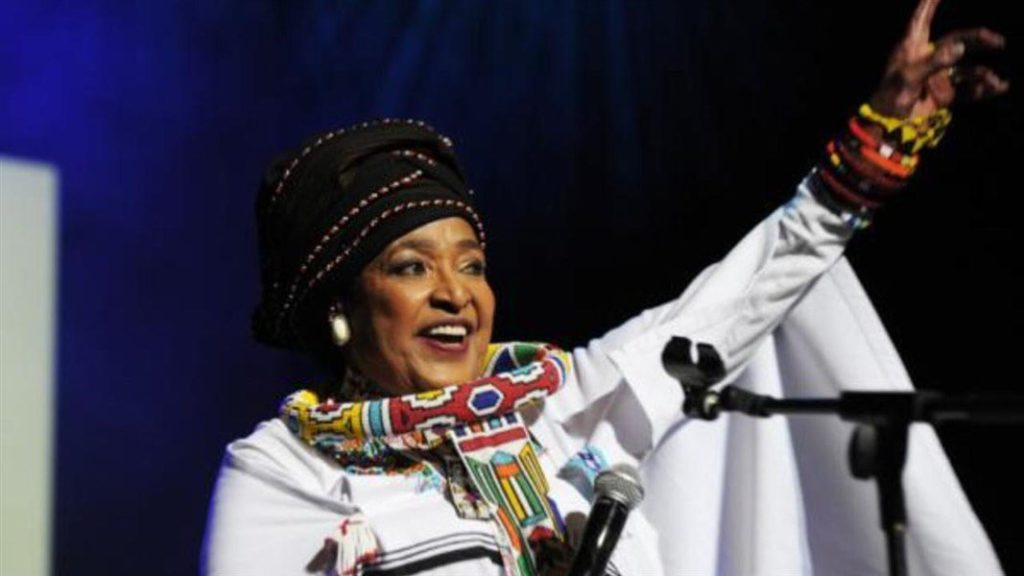 Red Cross salutes you Mama Winnie