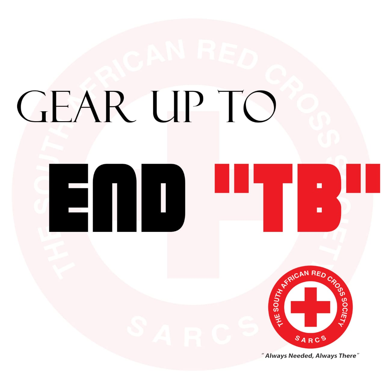 Advancing SARCS role to the End TB/HIV strategy