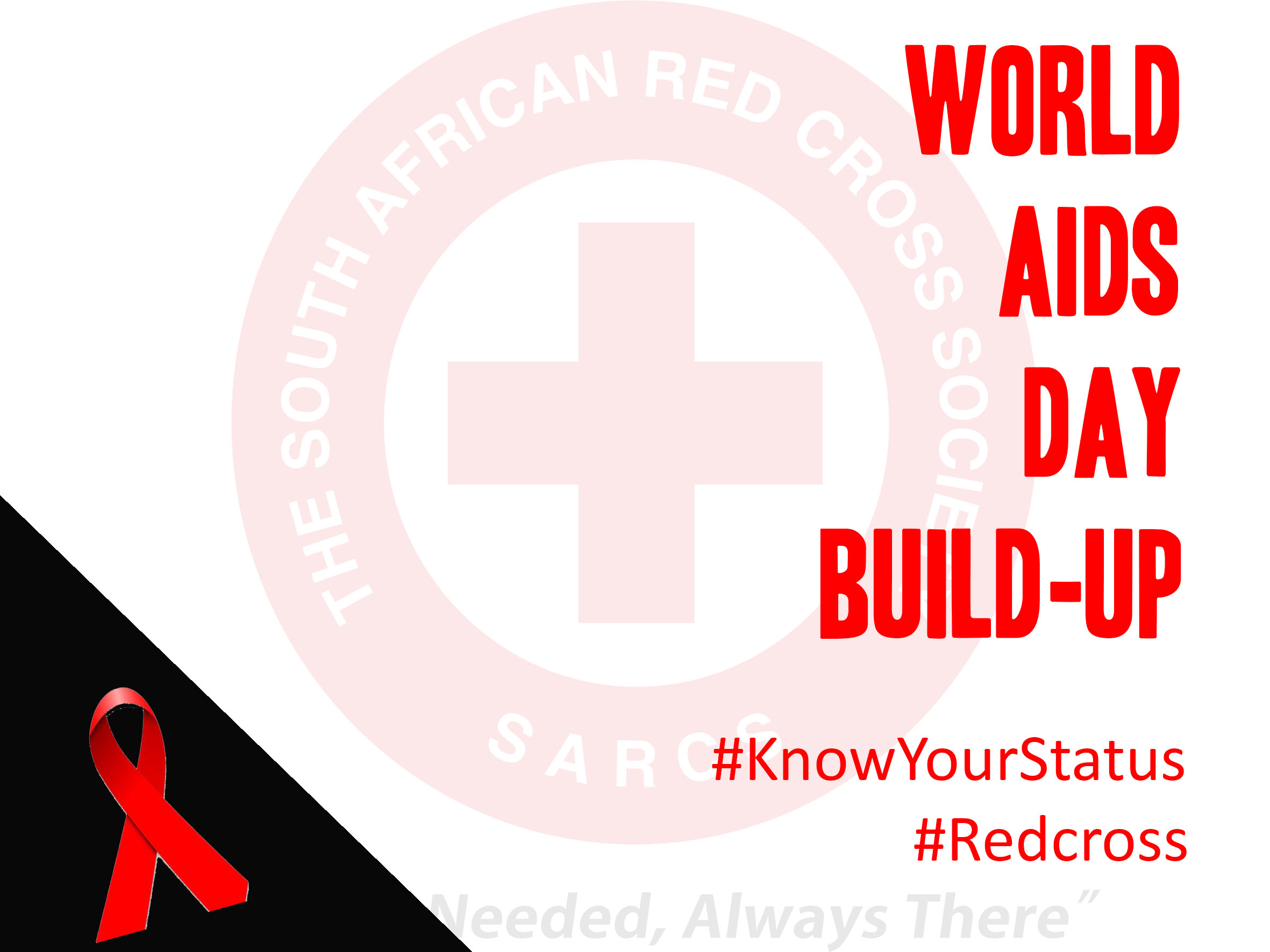 World aids day build up activity – Know your status