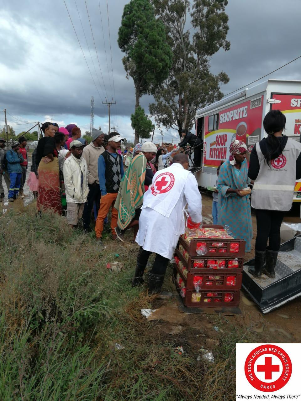 SA Red Cross responding to KZN and EC Floods