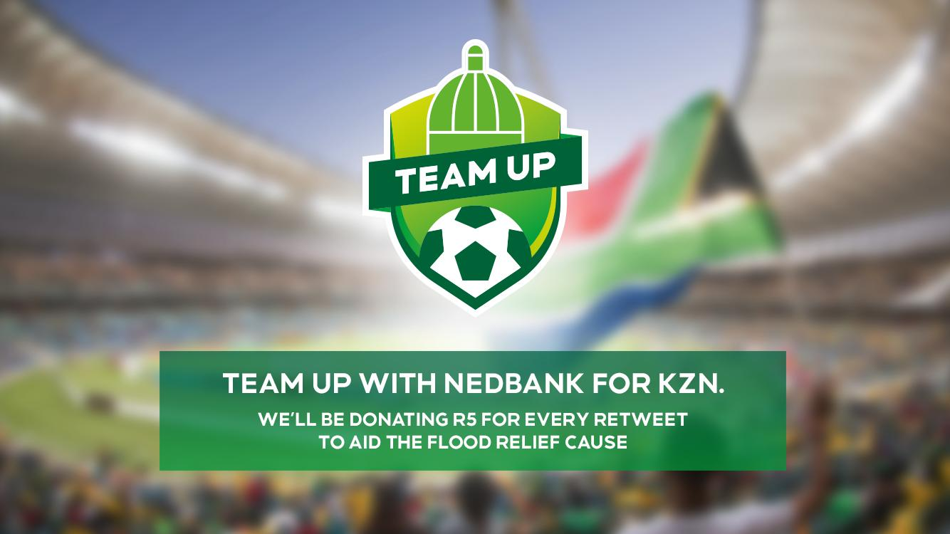 Team up with Nedbank for KZN flood relief