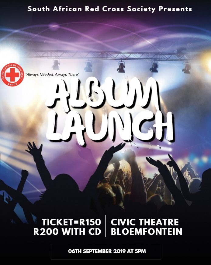The South African Red Cross Society Musical CD available now, for only R100