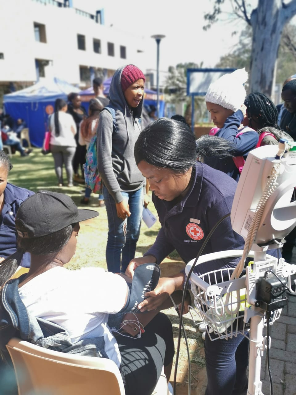 Red Cross took to the streets, Health Awareness Week in Free State