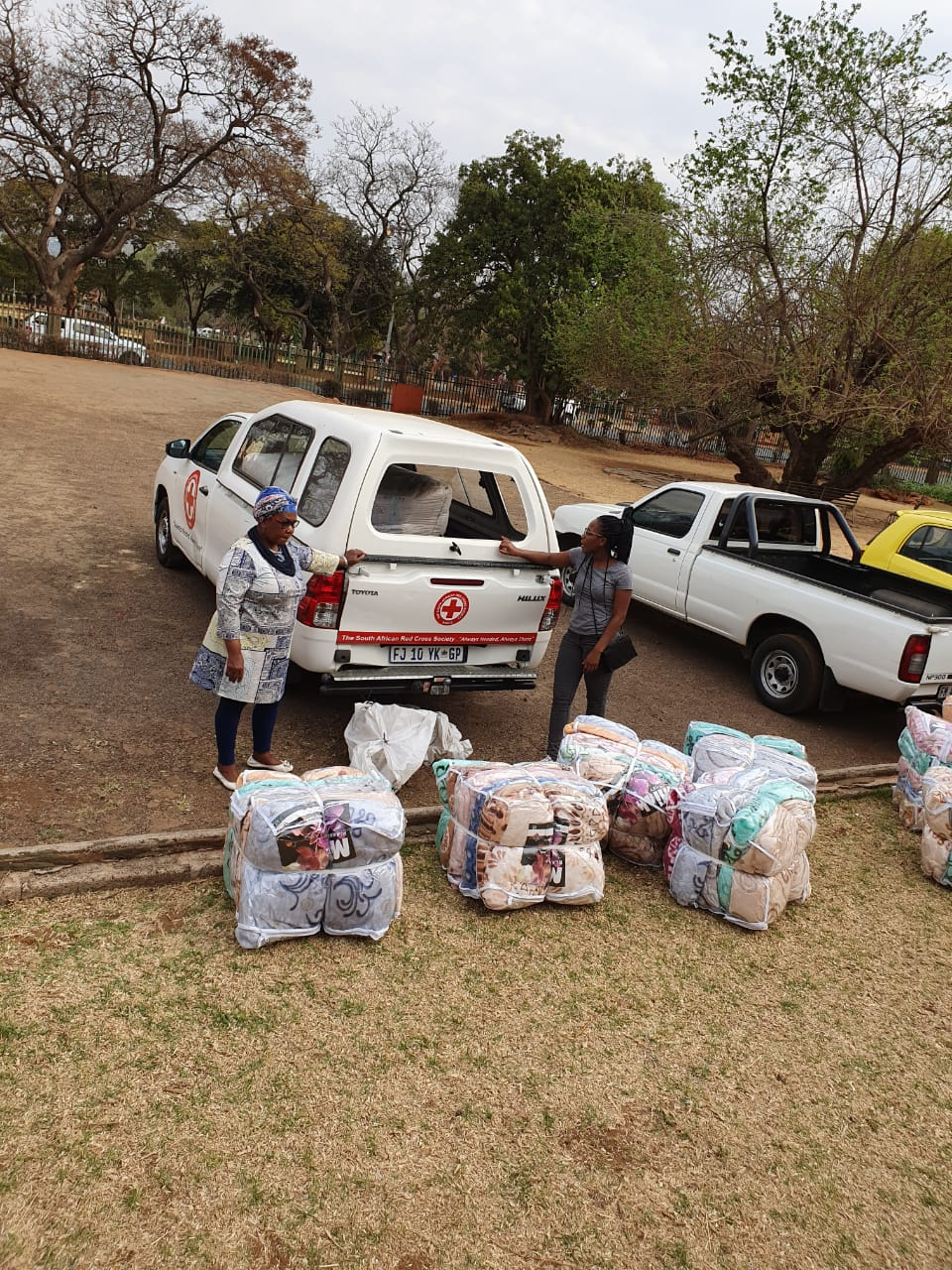 Red Cross responding to recent displaced victims of violence